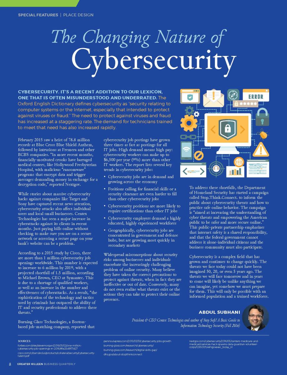 The Changing Nature of Cybersecurity | Greater Killeen
