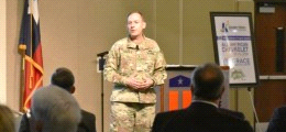 Killeen Chamber of Commerce learns about equipment testing for soldiers during luncheon