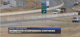 Interstate 14 expansion to continue through five different states