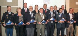 I-14 and defense community honors recognized during ceremonies