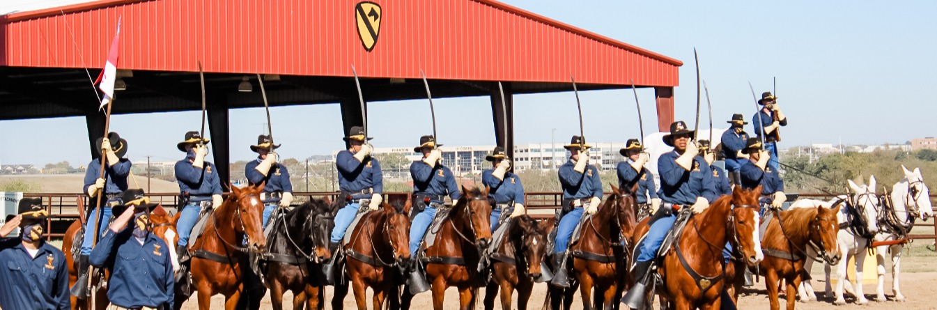 Fort Hood 1CAV Horse Detachment