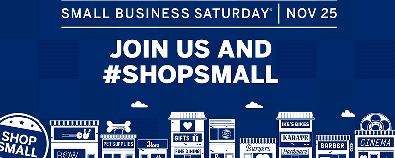 Now Accepting Vendors for Small Business Saturday Event
